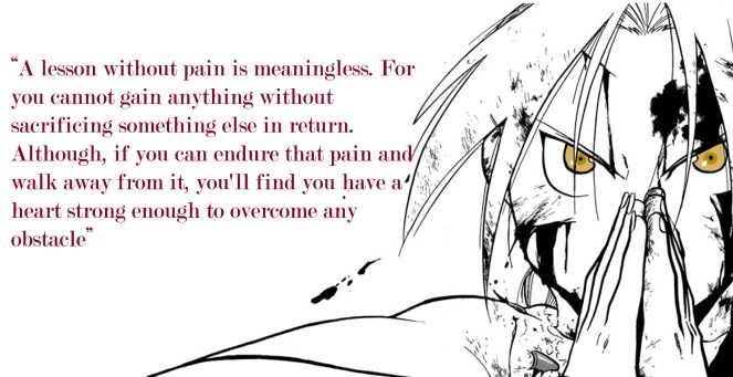 FMA Edward Elric Quote