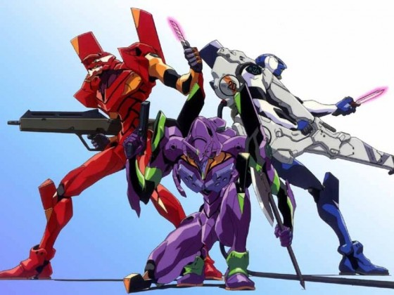 Evangelion Mecha Anime