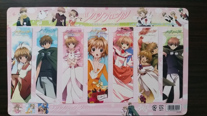 KuroSamaReviews Tsubasa bookmarks.jpg