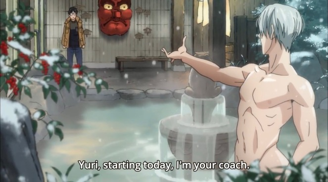 yuri-on-ice-hot-spring-kuro-first-impression