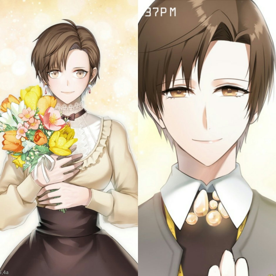 Mystic Messenger Christmas Jaehee image issue.jpg