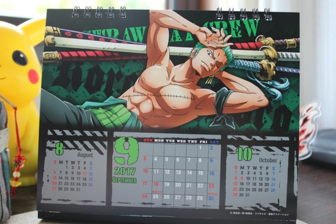 One Piece Body Calendar Zoro.JPG