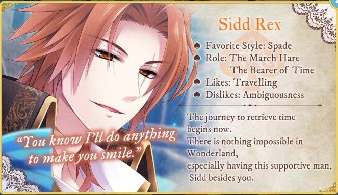 Sidd Rex info