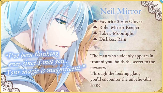 Neil Mirror Lost Alice