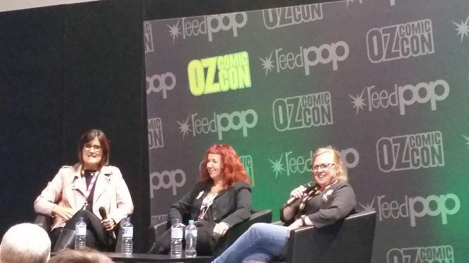 Oz Comic Con 2017 author talk