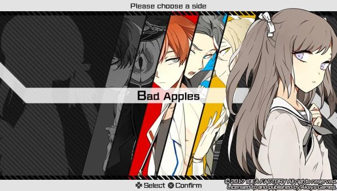 Bad Apple Wars otome review choose a side bad apples.jpg