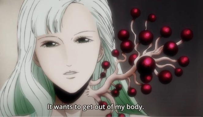 Junji Ito anime blood plant.jpg