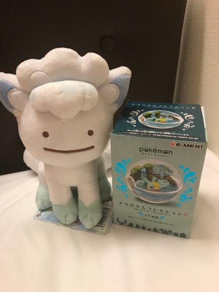 Pokemon Goods 2018 Ditto Alolan Vulpix