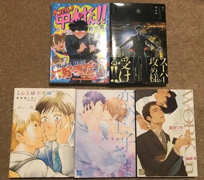 Yaoi Manga Haul Tokyo Japan 2018.jpeg
