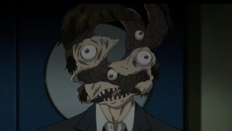 Parasyte the Maxim Shimada reveal face