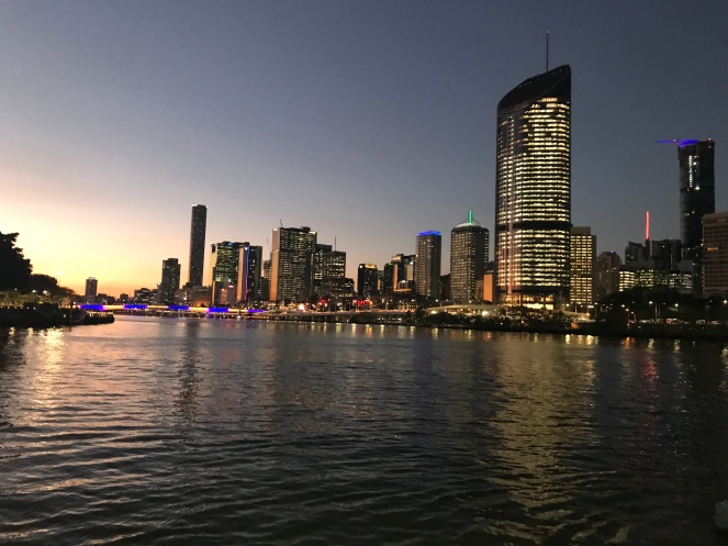Brisbane Night river cruise
