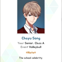 Chayu Song Flower Boy Atheltic High