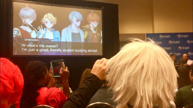 Cheritz Mystic Messenger Voice Actors Otakon