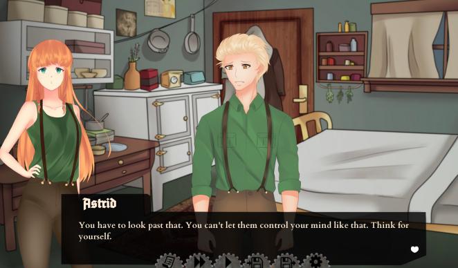 War visual novel Astrid
