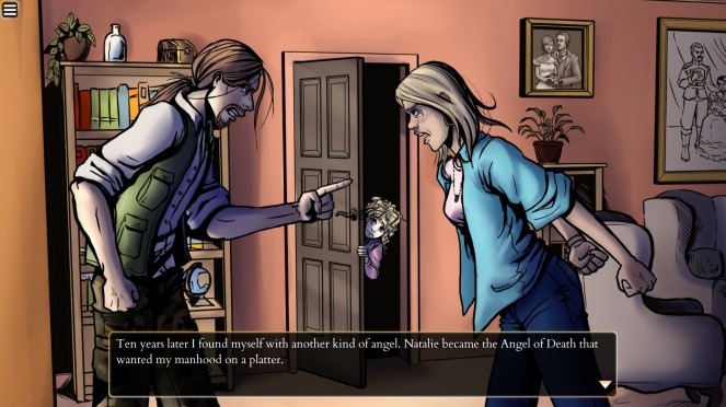Perseverance Horror Visual Novel