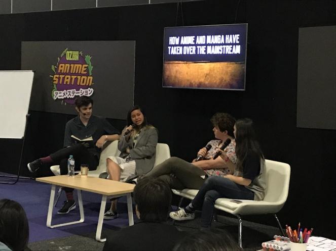 Oz Comic Con 2018 Panel