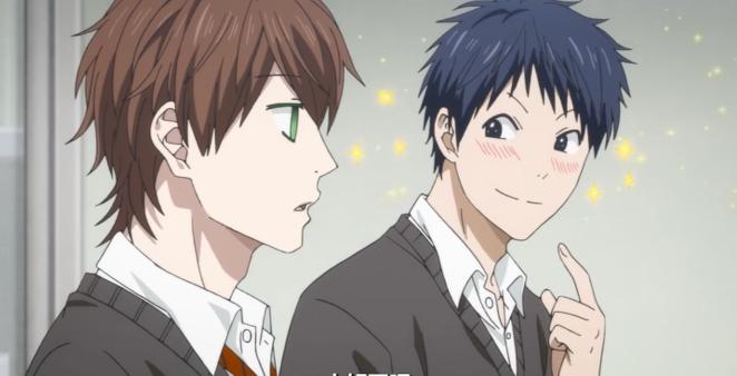 Takashi Tōno and Yuu Kashima Yarichin Anime