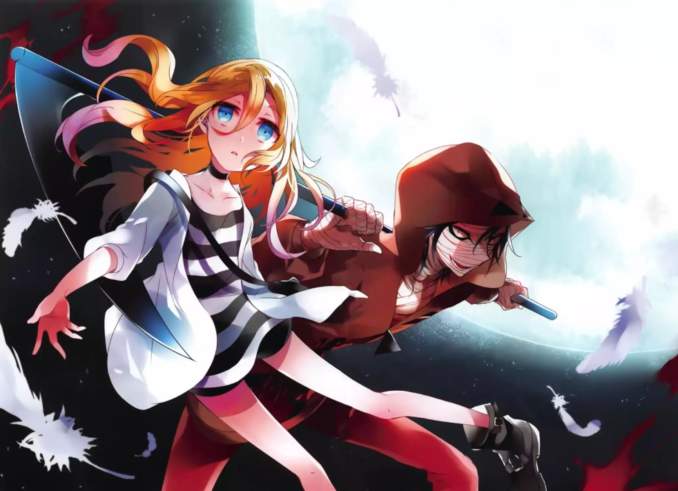 Angels of Death Manga Anime Game Review