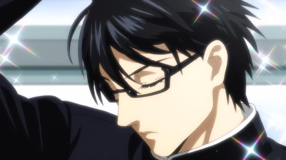Anime megane boy