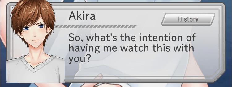 first love story akira