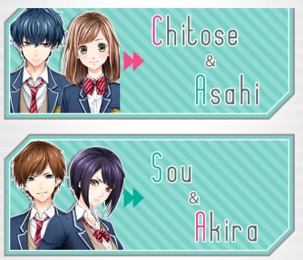 first love story characters
