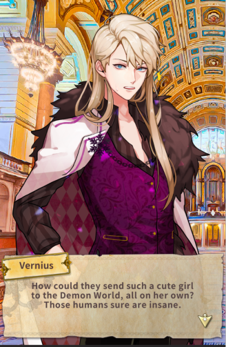 Proposed to by a demon lord Vernius