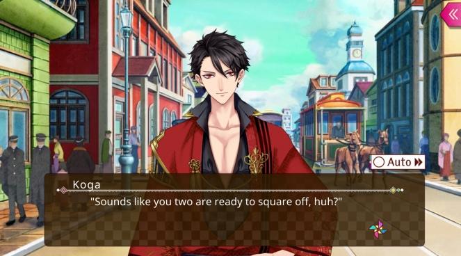 Ayakashi Romance Reborn koga