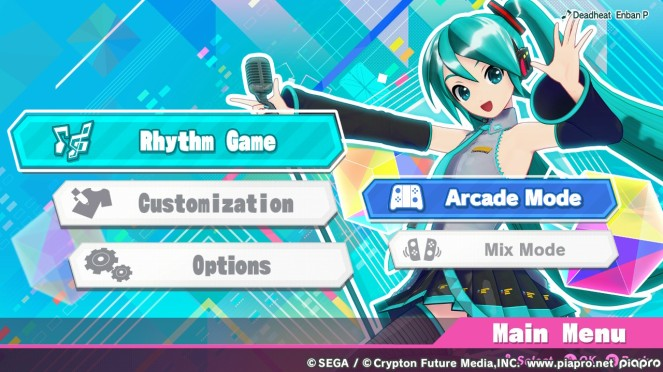Hatsune Miku Switch