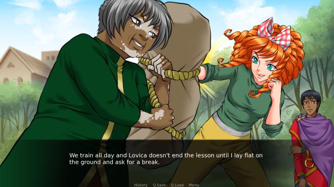 Princess Amaltea Visual Novel