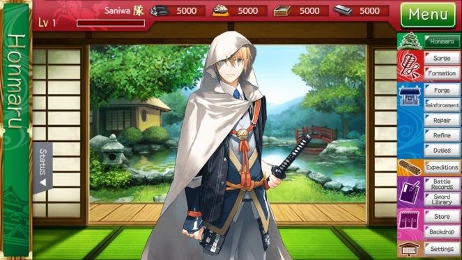 Touken Ranbu Online English