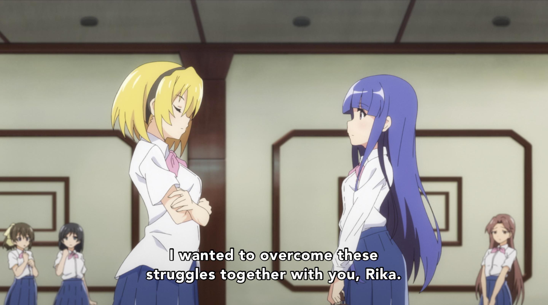 Higurashi Gou 21 Rika and Satoko